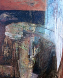 SOLD Oedipus, Oil on Canvas