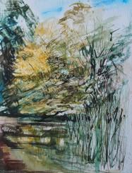 Nowton Park 23x30cm Watercolour