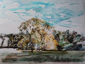 West Stow 23x30cm Watercolour